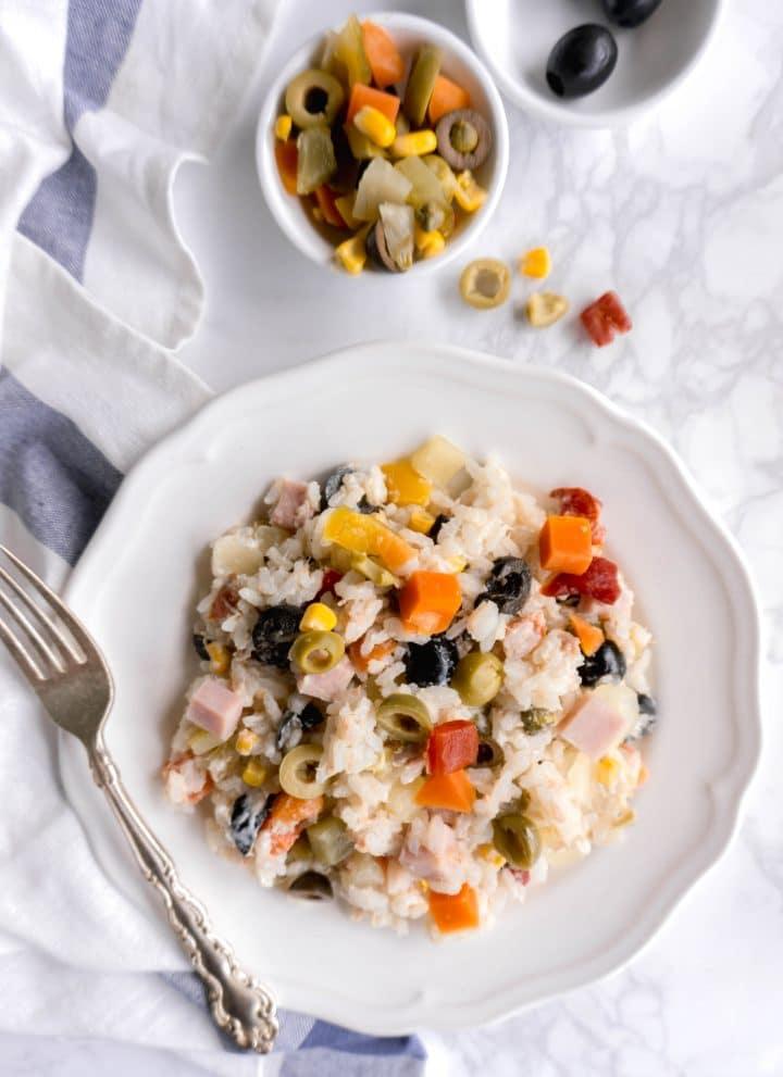 Insalata di Riso - Italian Rice Salad