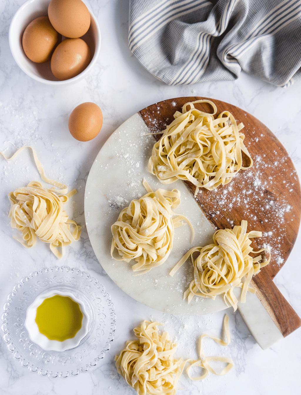 How to make easy homemade fettucine