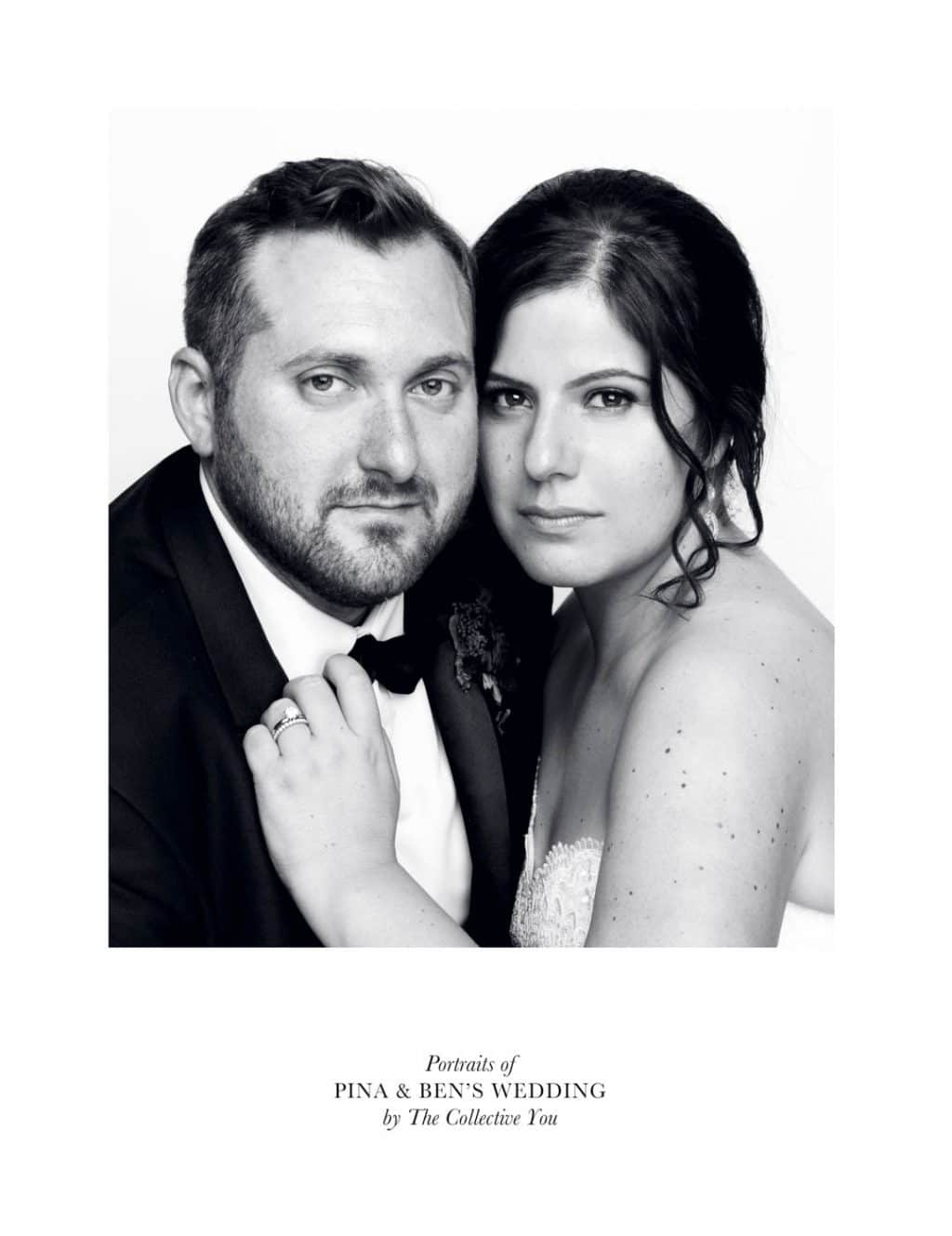 Black & White Portrait for wedding