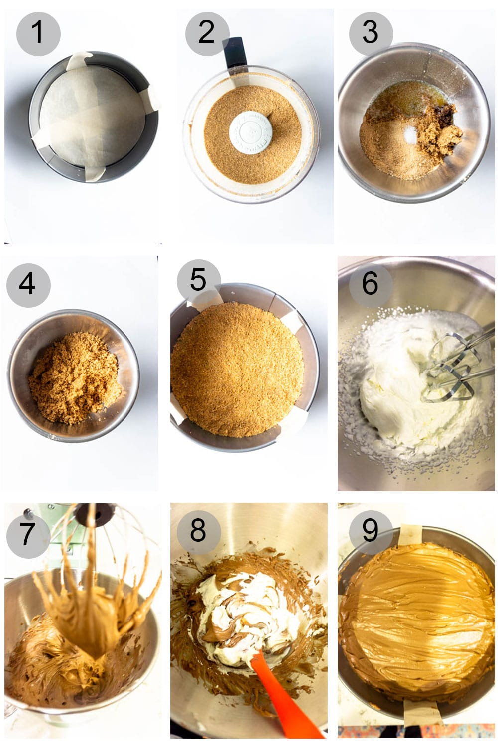 Step-by-Step Photos on how to make a Nutella Tart