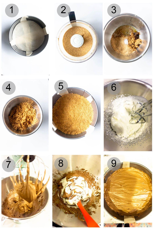 Nutella Tart Process