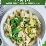 Pinterest image for ricotta pasta