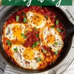 Pinterest image for eggs in purgatory